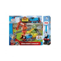 Fisher Price Λαμπάδα Thomas And Friends Crane And Cargo Μεταφορές Με Την Cassia Το Γερανό (Με Τον Τόμας) – GHK83