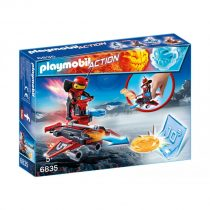 Playmobil Action: Firebot Με Εκτοξευτή Δίσκων -6835
