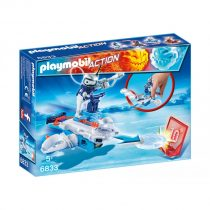 Playmobil Action: Icebot Με Εκτοξευτή Δίσκων-6833