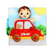 Jollybaby Μαλακό Εκπαιδευτικό Βιβλιαράκι Junior Driver -8149J