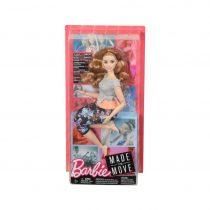 Mattel Barbie Αμέτρητες Κινήσεις – Κούκλα Με Καμπύλες Και Καστανά Μαλλιά FTG80 / FTG84