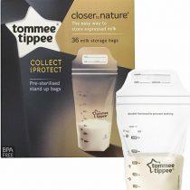 Tommee Tippee Closer to Nature Breast Milk Storage Bags Σακουλάκια Αποθήκευσης Μητρικού Γάλακτος 36τμχ -42302241