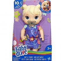 Hasbro Baby Alive Lil Sounds Blonde Hair (5010993553020)