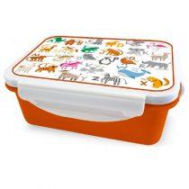ID200: Πλαστικό Παιδικό Δοχείο Φαγητού Animals