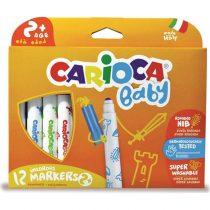 Carioca Μαρκαδόροι ζωγραφικής Teddy Baby JUMBO 12 μαρκαδόροι – 42814