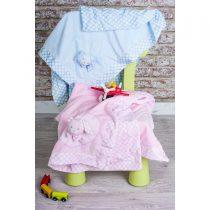 GM Home Κουβέρτα Αγκαλιάς & Λίκνου 2876 Fleece 75x100cm Ροζ