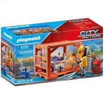 Playmobil City Action – Κατασκευαστής Container – (70774)