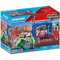 Playmobil City Action – Σταθμός Cargo- (70773)