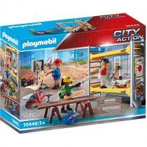 Playmobil City Action – Εργάτες με σκαλωσιά 70446