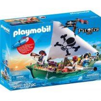 Playmobil Pirates: Πειρατικό Πλοιάριο με Υποβρύχιο Μοτέρ (70151)