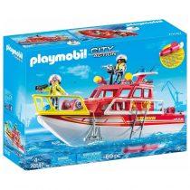 Playmobil City Action: Πυροσβεστικό Σκάφος Διάσωσης (70147)