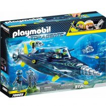 Playmobil Top Agents: Σκάφος Υποβρύχιων Καταστροφών της Shark Team (70005)